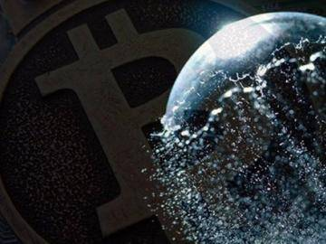 The excess supply of bitcoins are inflating the bubble more and more.?