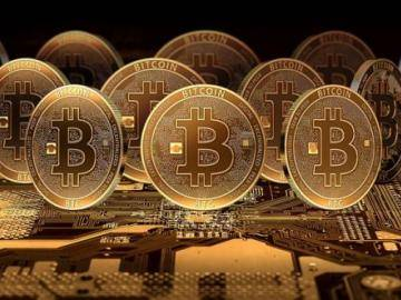 9.771 US dollar – a new record price for a bitcoin