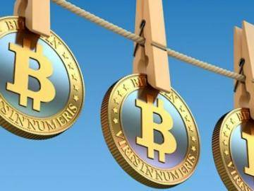 Less than one percent of all transactions in bitcoin is used for money laundering