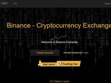 Binance temporarily resumed registration of new users