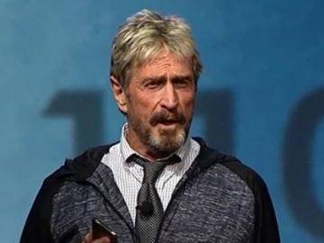 """John McAfee in surprise: """"What's wrong with paying for sex with bitcoin?"""""""