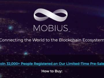 $ 35 million was able to collect the Mobius project before the official start of the ICO