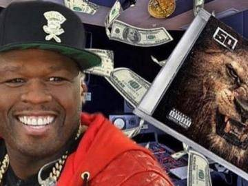 Rapper 50 Cent became a bitcoin millionaire
