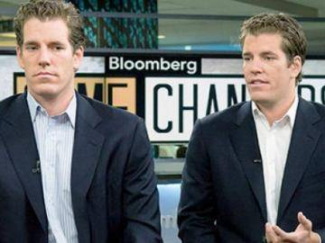 The Winklevoss twins lost the status of bitcoin billionaires