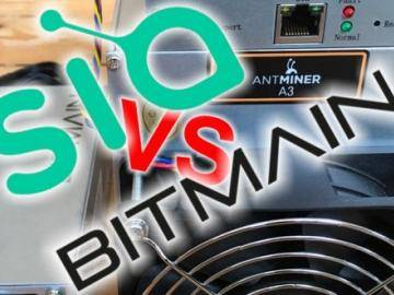 As Bitmain has responded to the threat of developers Sia?