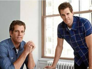 The Winklevoss twins spoke to the older generation of the financial community