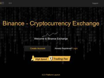 Cryptocurrency exchange Binance resumed work