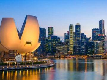 The Singapore government announced the competition for blockchain projects