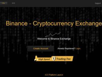 Price on Binance Coin (BNB) took off after yesterday's announcement of the exchange