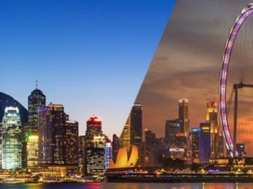 Hong Kong and Singapore welcomed the Chinese and South Korean ICO