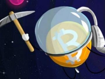 To the Moon: Cryptocurrency enthusiasts mined bitcoins at a height of 35 000 feet!