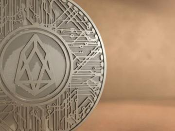 What was the reaction of the price of EOS to run the core network?
