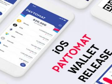 In the AppStore wallet from Paytomat