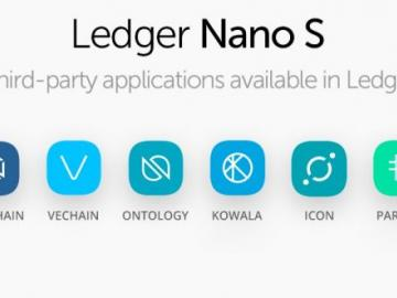 Ledger launched a support VeChain, WanChain, Icon and five other cryptocurrencies