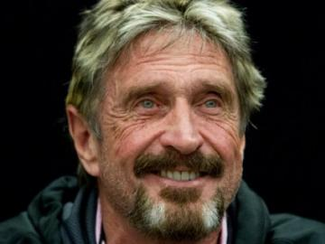 "Cracked the ""unbreakable"" crypto wallet John McAfee"