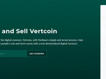 The first cryptocurrency exchange on the base currency Vertcoin