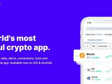 CoinMarketCap has released a new version of the mobile application